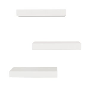 Maine Floating Wall Shelf (Set of 3)