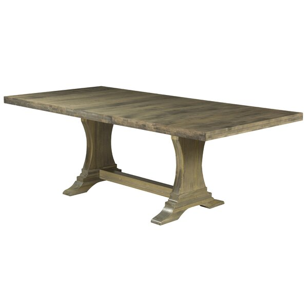 Augusto Maple Solid Wood Dining Table by One Allium Way