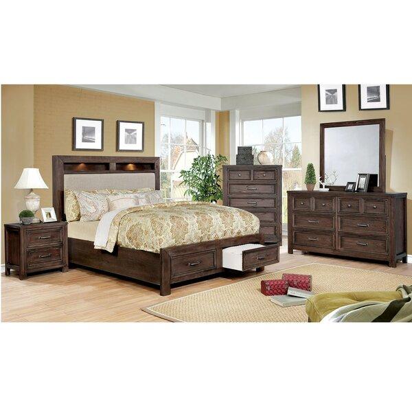 Ertha Upholstered Storage Platform Bed by Rosalind Wheeler