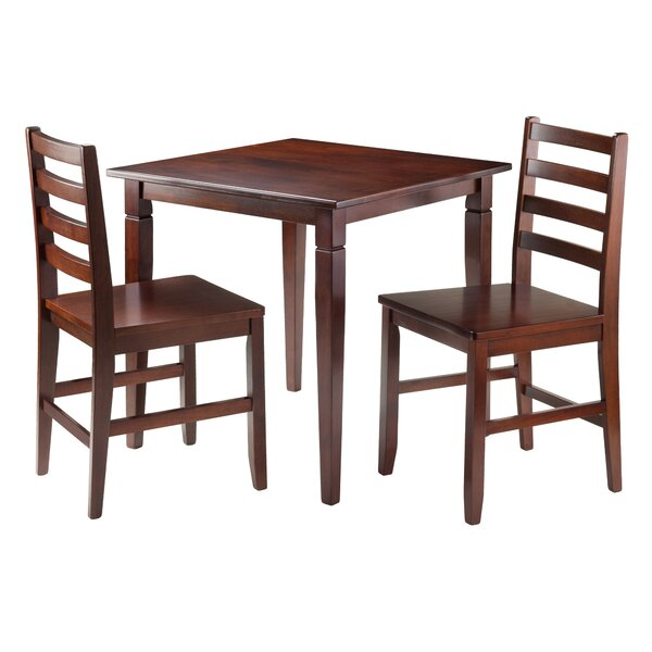 Hemphill 3 Piece Dining Set by Red Barrel Studio