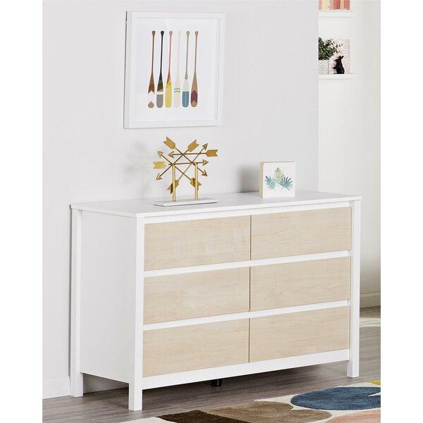 Addison 6 Drawer Double Dresser by Novogratz