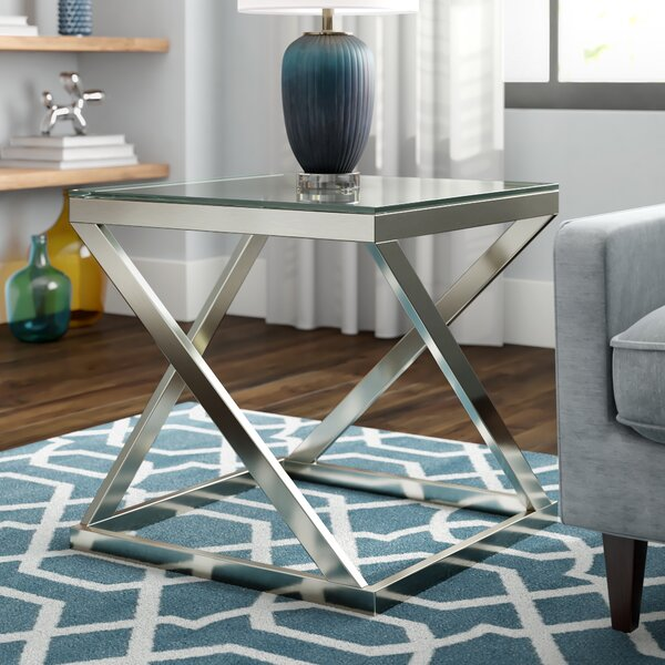 Larksville End Table by Wade Logan