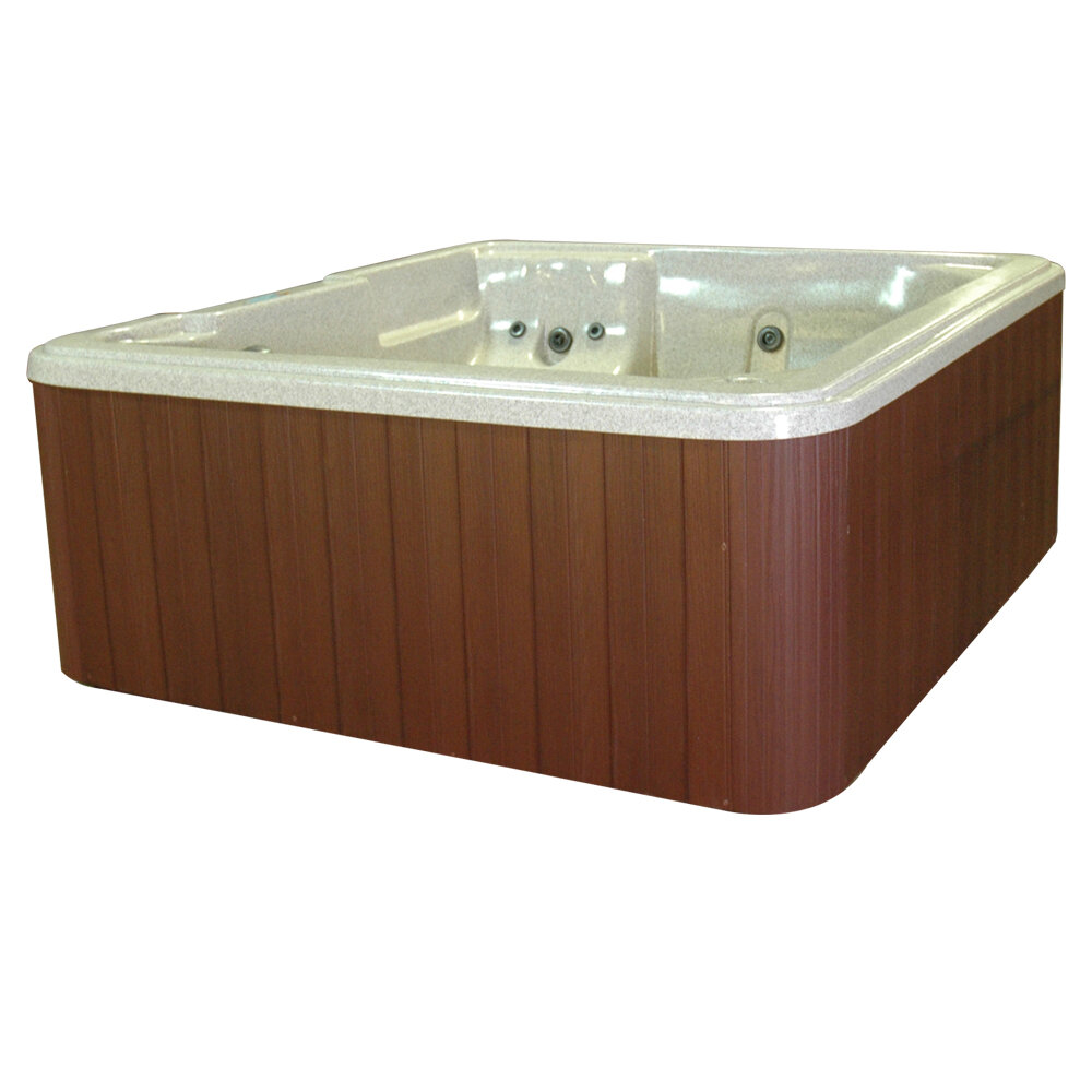 QCA Spas Bahama 5-Person 30-Jet Plug and Play Spa with LED Light and ...