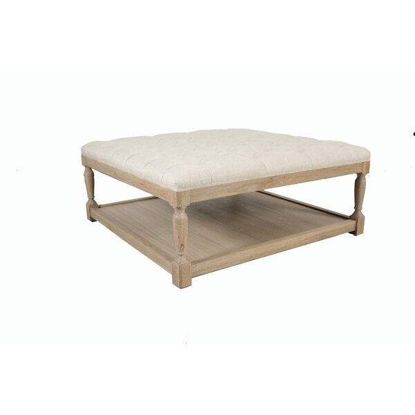 Larocco Tufted Cocktail Ottoman by One Allium Way