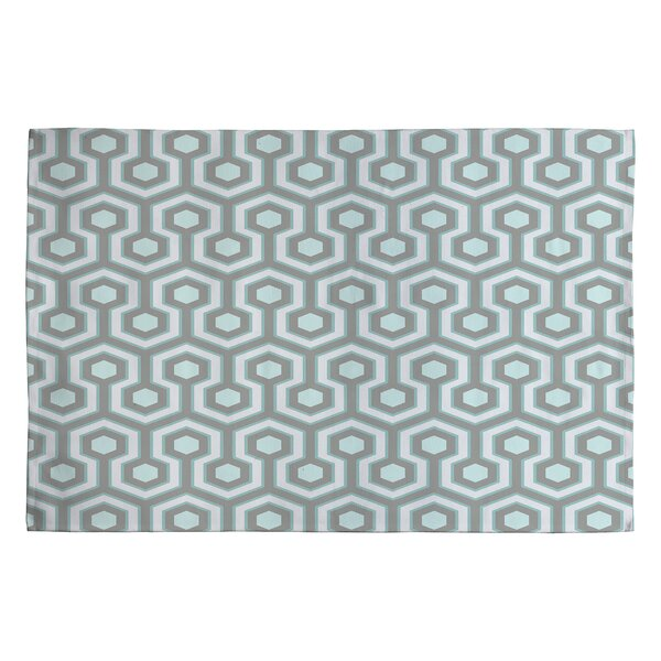 Icicle Gray Area Rug by East Urban Home