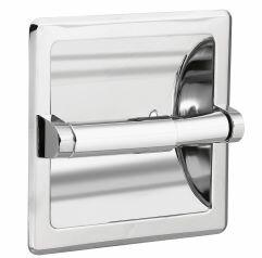 Donner Recessed Toilet Paper Holder by Moen