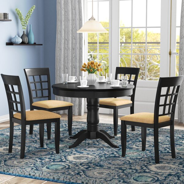 Oneill 5 Piece Wood Dining Set by Andover Mills