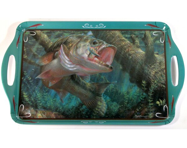 Melamine Fish Serving Tray by MotorHead Products