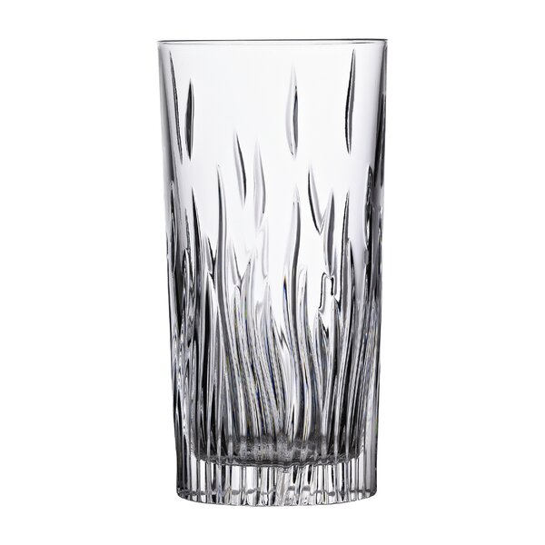 RCR Fire 11 oz. Crystal Highball Glass (Set of 6) by Lorren Home Trends