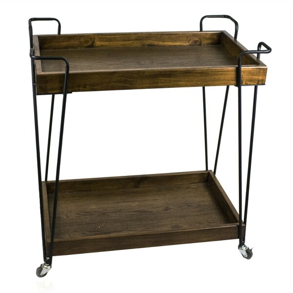Liptak Super Efficient Bar Cart by 17 Stories
