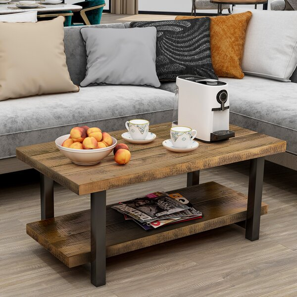Hardrigg Coffee Table With Storage By Millwood Pines