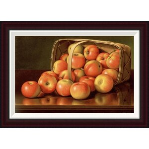 Apples by Levi Wells Prentice Framed Painting Print by Global Gallery