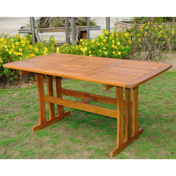 Searcy Solid Wood Dining Table By Loon Peak
