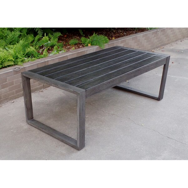 Sheppard Patio Coffee Table by Union Rustic