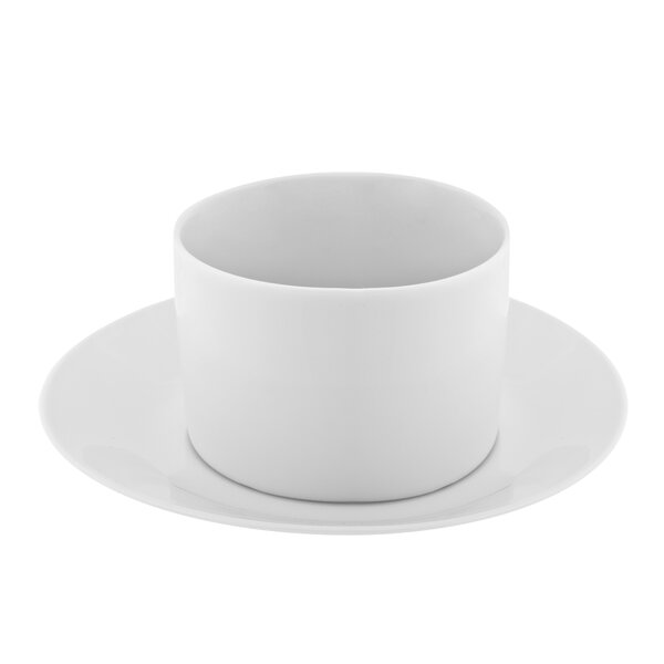 Renava Cup and Saucer (Set of 6) by Mint Pantry