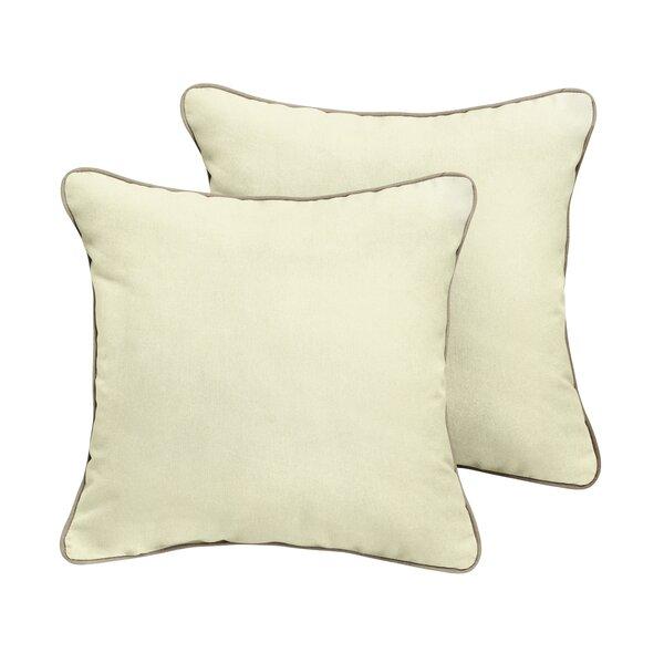 Cyrano Sunbrella Outdoor Throw Pillow (Set of 2) by Red Barrel Studio