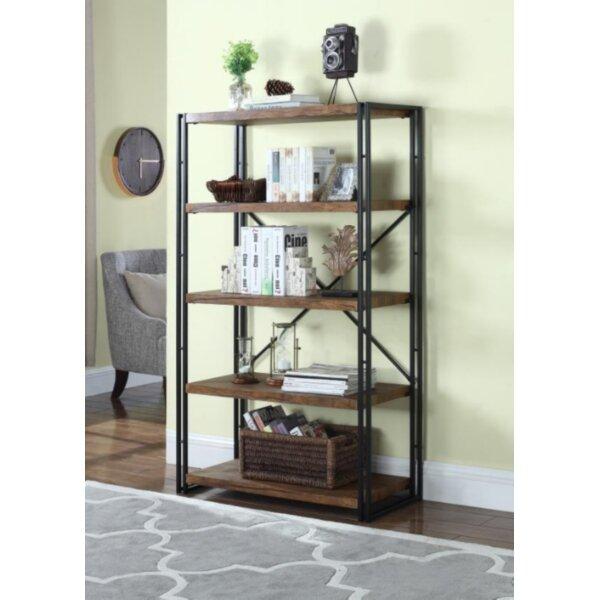 Lorinda Etagere Bookcase by Three Posts