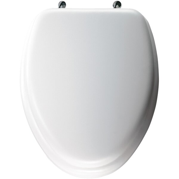 Cushioned Elongated Toilet Seat by Bemis