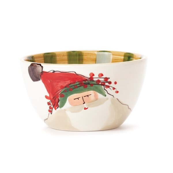 Old St Nick Cereal Bowl by VIETRI