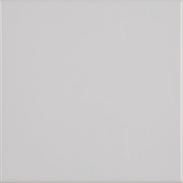 6 x 6 Ceramic Field Tile in Light Grey by Itona Tile