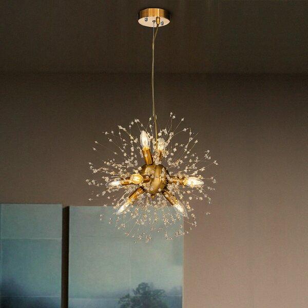 Gabilan 8 - Light Sputnik Sphere Chandelier by Everly Quinn Everly Quinn