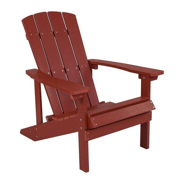 Sandler Plastic Adirondack Chair by Breakwater Bay Breakwater Bay