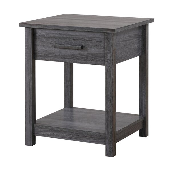 Eastville 1 Drawer Nightstand by Gracie Oaks