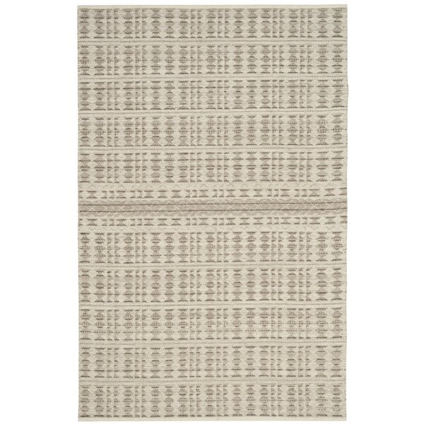 Bennett Hand-Woven Wool Ivory Area Rug by Union Rustic