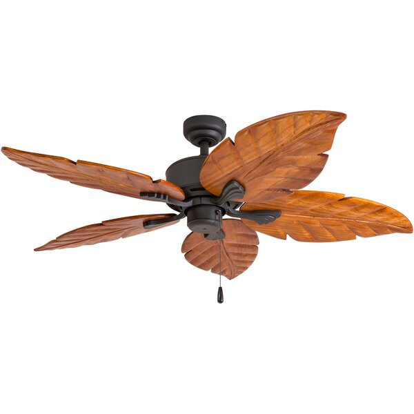 52 Kalista Indoor 5 Blade Ceiling Fan with Remote by Bayou Breeze
