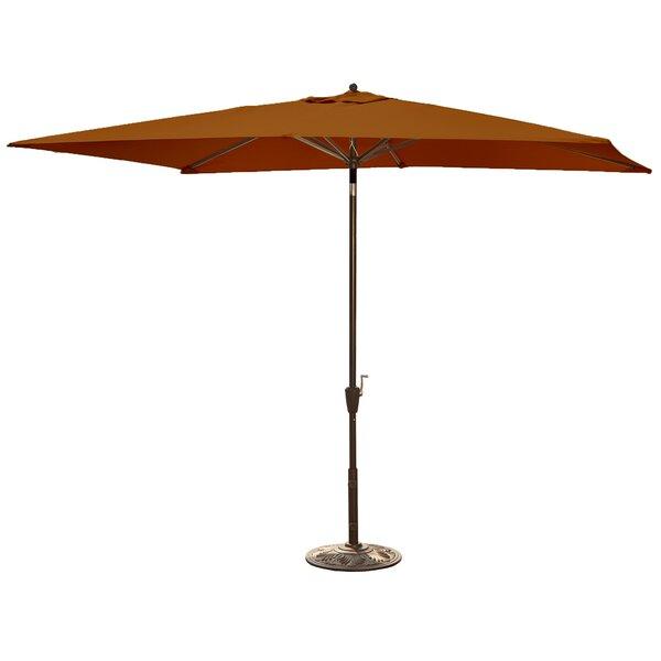 Bonview 10' X 6.5' Rectangular Market Umbrella By Breakwater Bay by Breakwater Bay Great price