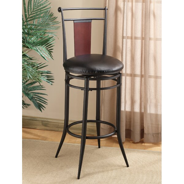 Midtown 30 Swivel Bar Stool with Cushion by Hillsdale Furniture