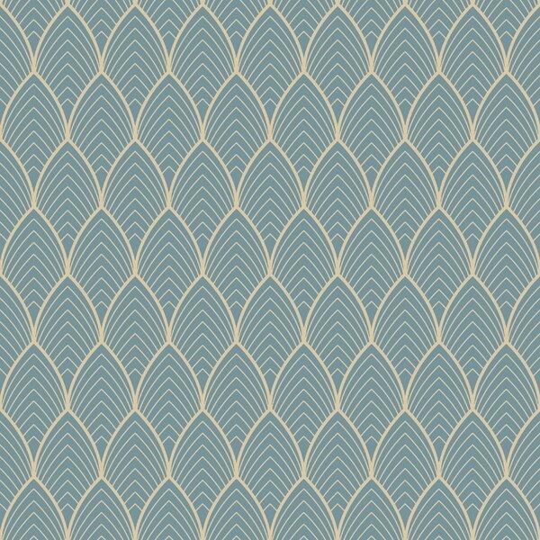 Art Deco Wall Paper Wayfaircouk
