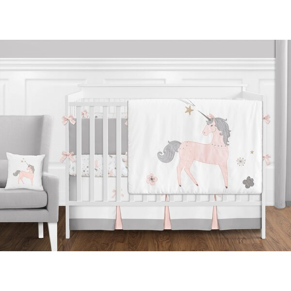 Unicorn 9 Piece Crib Bedding Set by Sweet Jojo Designs