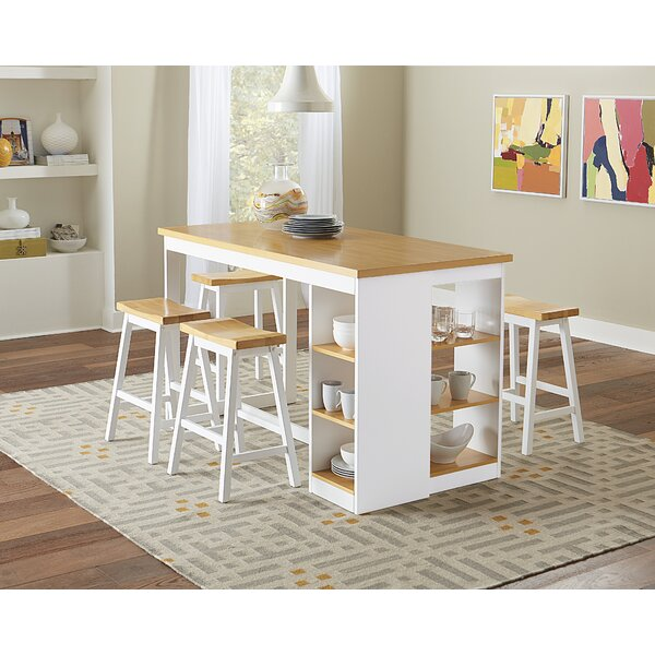 Espanola 6 Piece Pub Table Set by Darby Home Co