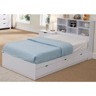 Divito Sophisticated Snow Twin Storage Platform Bed by Latitude Run