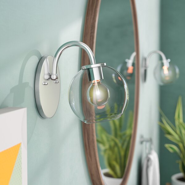 Carnkirn 1-Light Bath Sconce by Langley Street