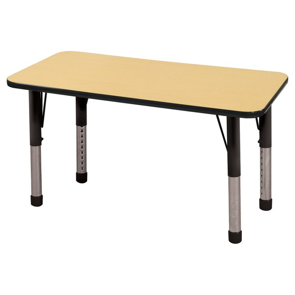 5 Piece Rectangular Activity Table & 14 Chair Set by ECR4kids
