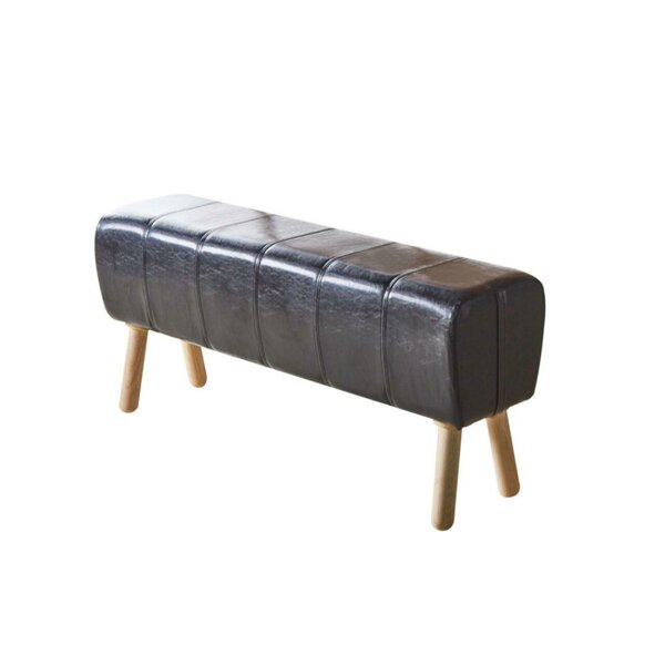 Brower Faux Leather Bench By Union Rustic 2019 Sale