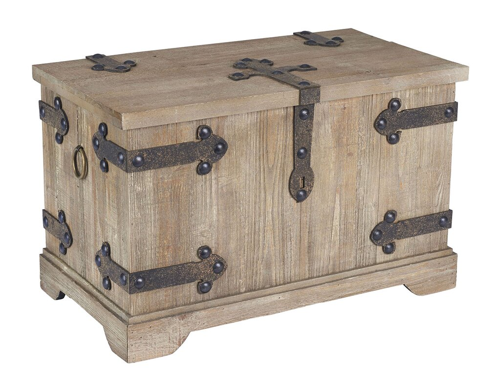 Small Victorian Storage Trunk