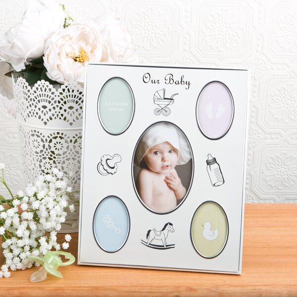 Baby Collage Aluminium Picture Frame by Fashion Craft