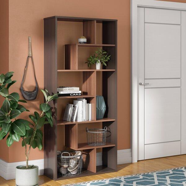 Utterback Geometric Bookcase by Brayden Studio