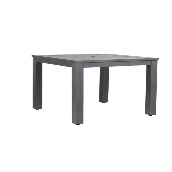 Redondo Aluminum Dining Table by Sunset West
