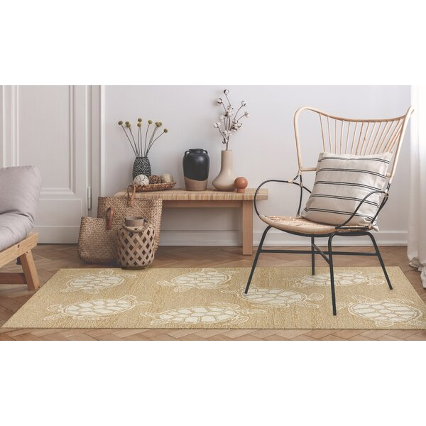 Claycomb Hand-Tufted Neutral Wool Indoor/Outdoor Area Rug by Highland Dunes