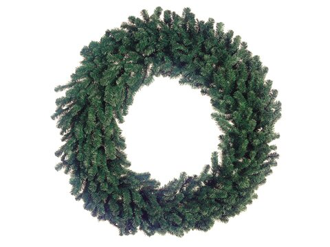 Deluxe Windsor Pine Commercial Size Artificial Christmas Wreath with Unlit by Northlight Seasonal