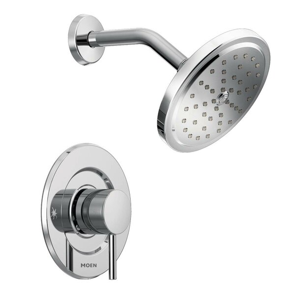 Align Shower Faucet with Moentrol by Moen