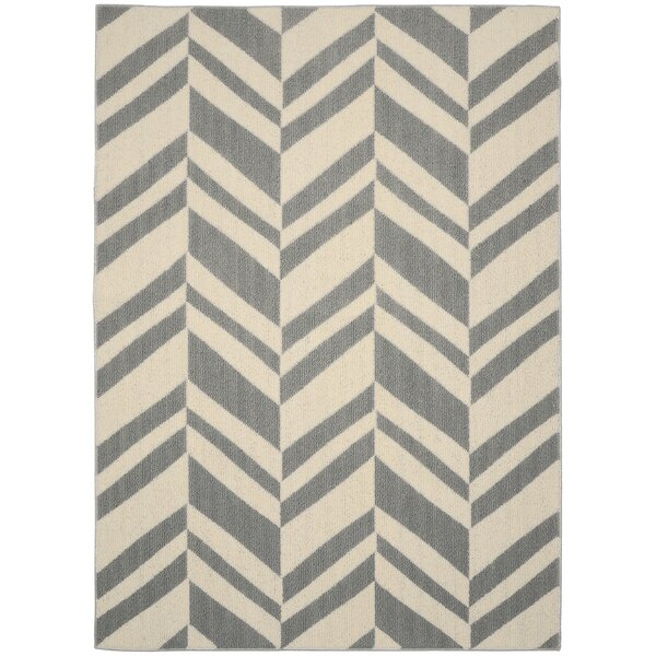 Chelsea Silver/Ivory Area Rug by Garland Rug