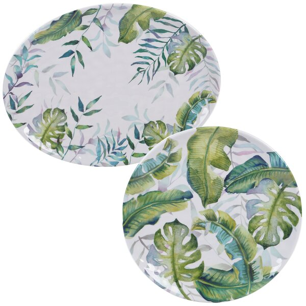 Edison 2 Piece Platter Set by Bay Isle Home
