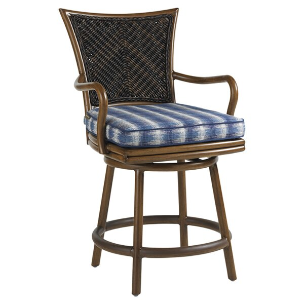 Island Estate Lanai 31 Patio Bar Stool with Cushion by Tommy Bahama Outdoor