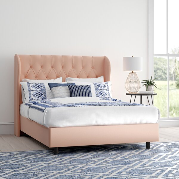 Dollman Tufted Upholstered Standard Bed by Mistana