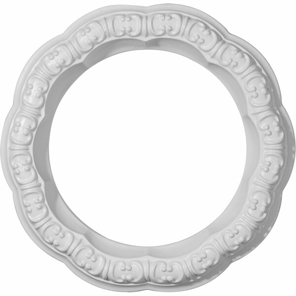 Swindon 10H x 10W x 1 5/8D Ceiling Ring by Ekena Millwork